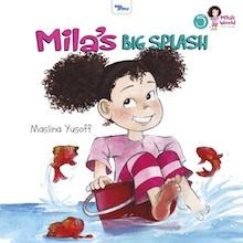 Mila's Big Splash