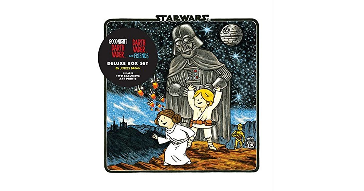 darth vader son vaders little princess deluxe box set includes two art prints star wars