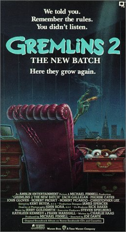 Gremlins 2:the New Batch [VHS] by NOT A BOOK