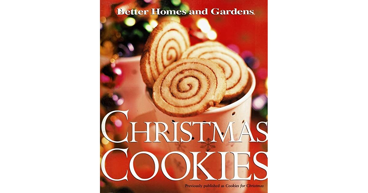 Christmas Cookies By Better Homes And Gardens