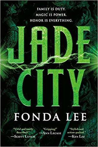 Book cover for Jade City by Fonda Lee