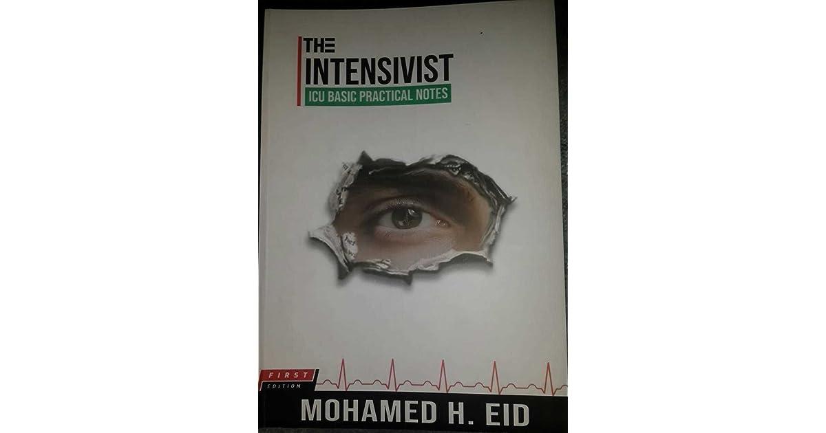 the intensivist icu basic practical notes pdf free download
