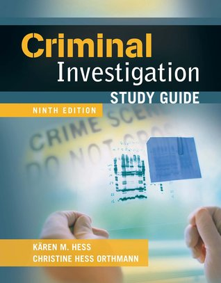 Criminal Investigation Study Guide