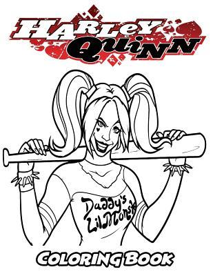 Harley Quinn Coloring Book Coloring Book For Kids And Adults Activity Book With Fun Easy And Relaxing Coloring Pages By Alexa Ivazewa