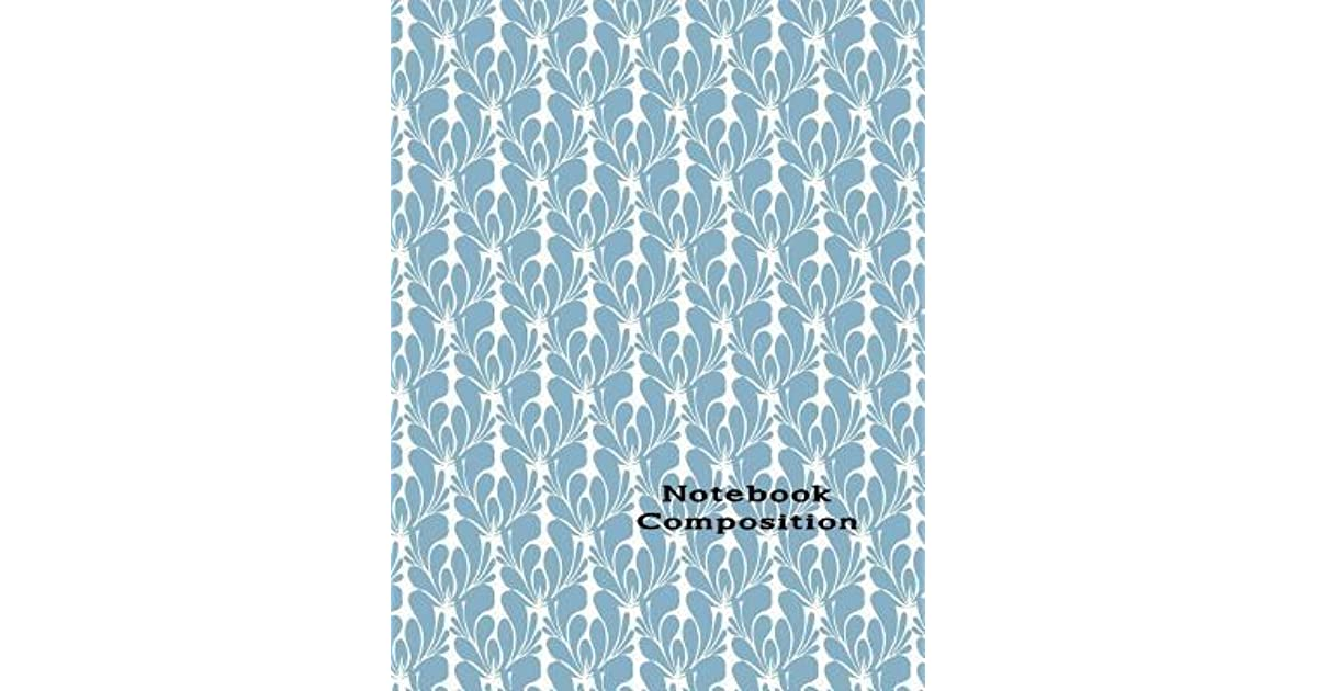 Notebook Composition: Paper Composition College Ruled