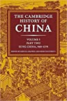 Cambridge History of China, Vol. 5 (Cambridge History of China)