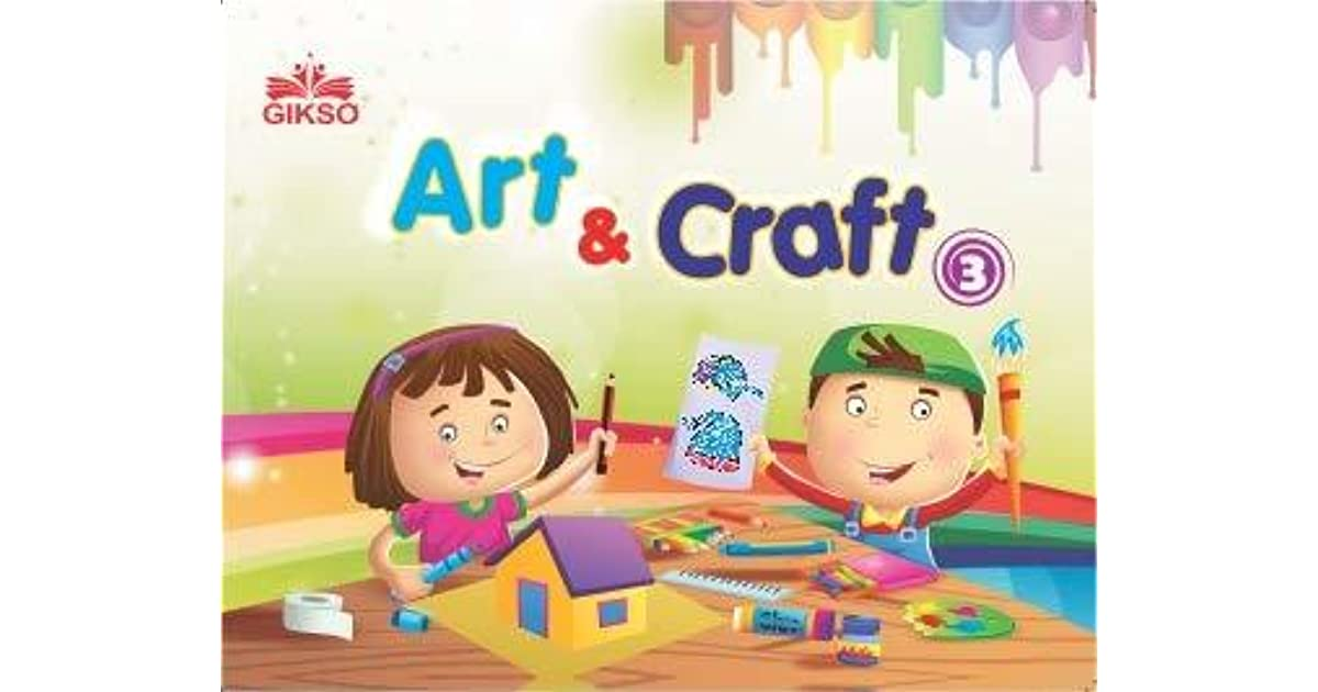 Gikso Art And Craft 3 Activity Book For Kids Age 6 To 10 Years Old