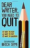 Dear Writer, You ...