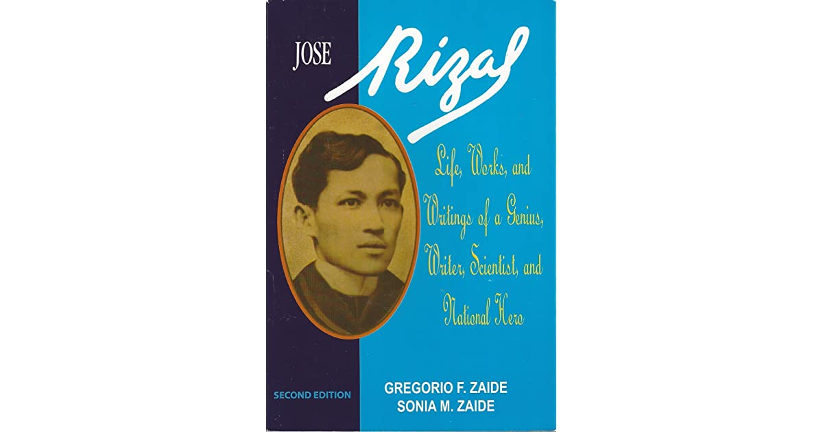 Life And Works Of Rizal Book