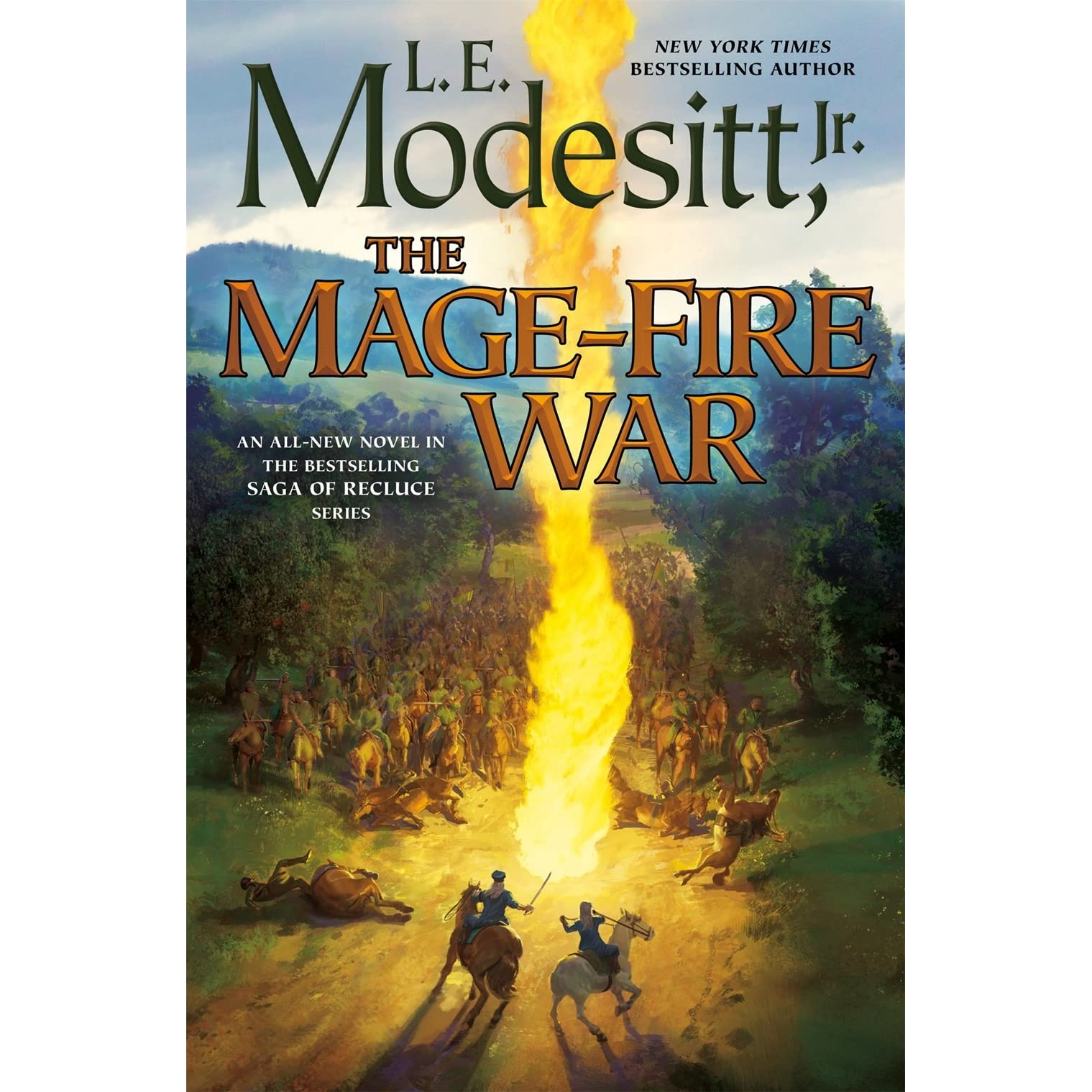 The Mage-Fire War (The Saga of Recluce, #21) by L E