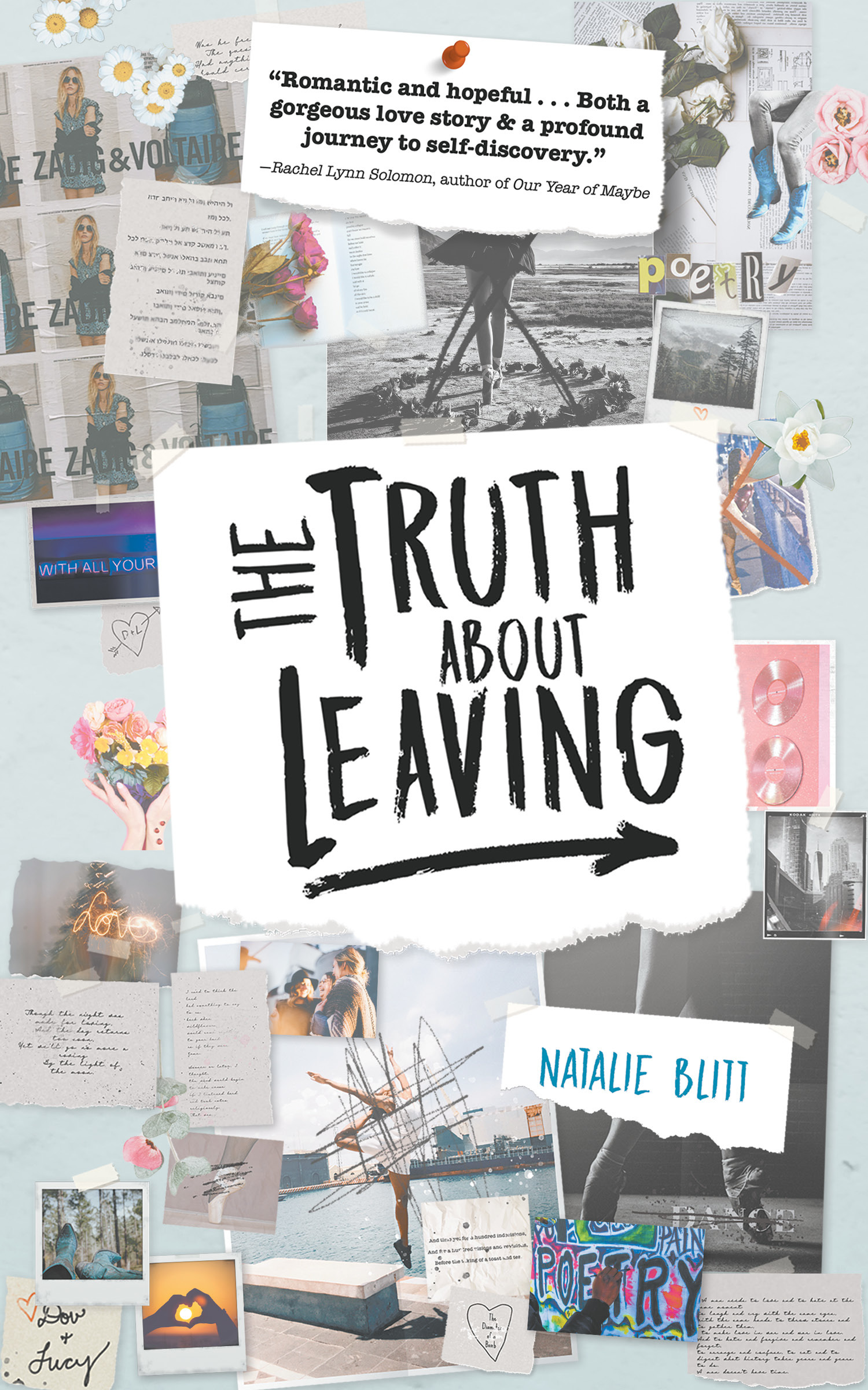 The Truth About Leaving by Natalie Blitt