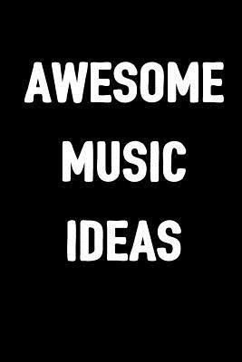 Awesome Music Ideas: Ukulele Tab Blank Sheet Music Notebook