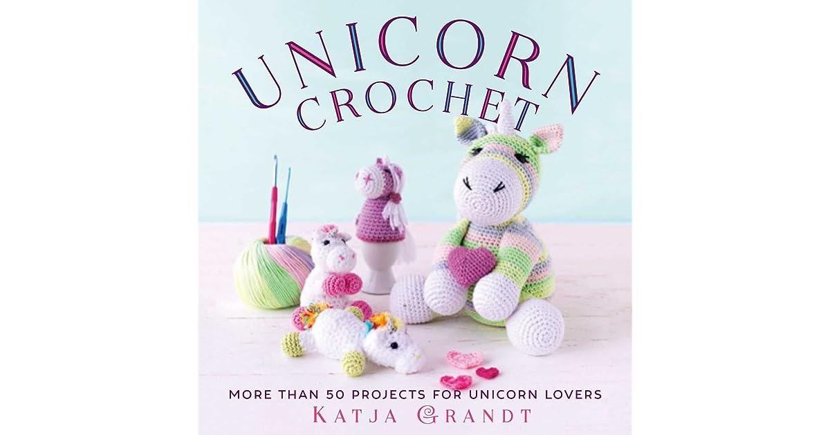 Little Yarn Friends • Crochet Pattern: Lil' Fluffy Unicorn ... | 630x1200