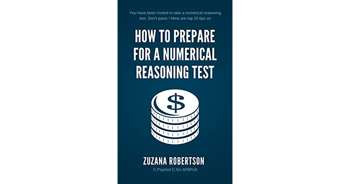 How to prepare for a numerical reasoning test by Zuzana Robertson
