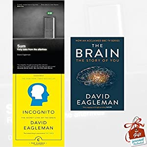 David Eagleman Collection 3 Books Bundle With Gift Journal