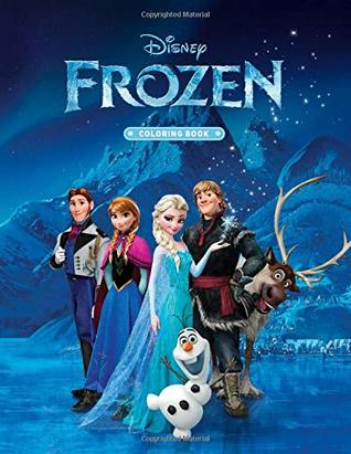 Frozen Coloring Book: High Quality Coloring Book For Kids ...