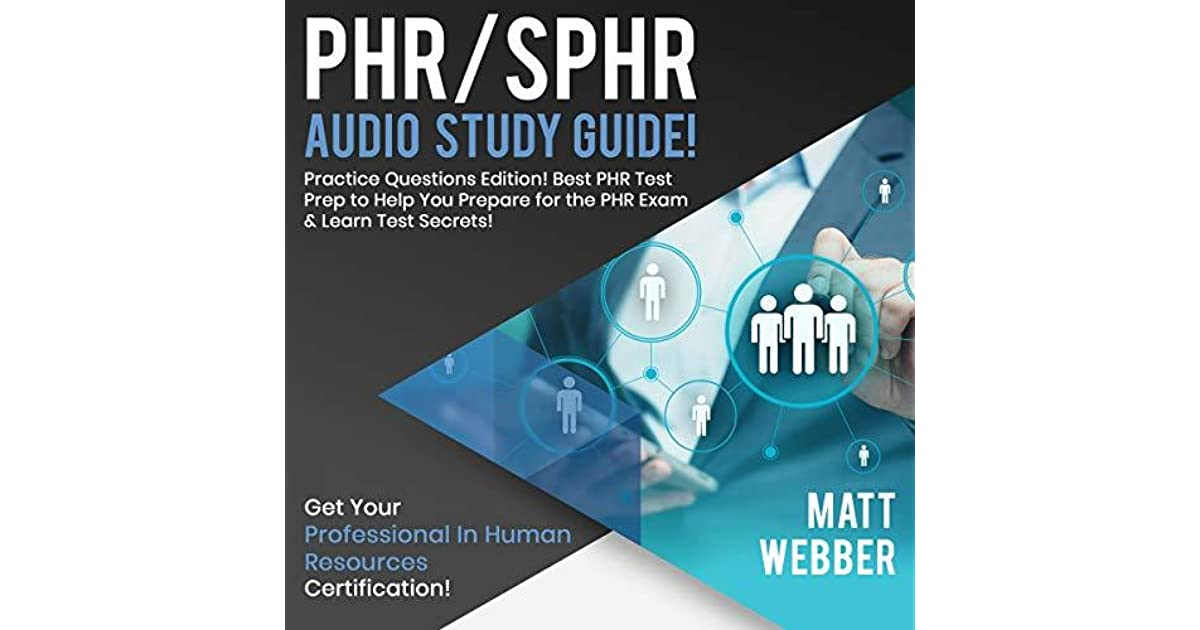 Phrsphr Audio Study Guide Practice Questions Edition Best Phr