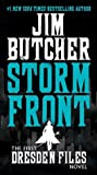 Book cover for Storm Front (The Dresden Files, #1)
