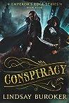 Book cover for Conspiracy (The Emperor's Edge, #4)