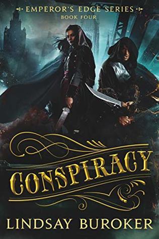Conspiracy (The Emperor's Edge, #4)