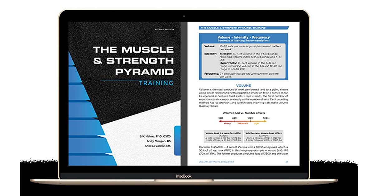 The Muscle And Strength Pyramid Training by Eric Helms