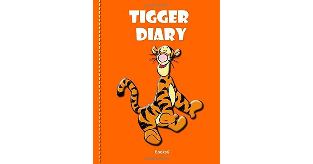 Tigger Diary Books6: Diary Journals, NoteBook ,Format