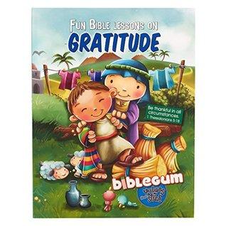 Children's Book: BibleGum Fun Bible Lessons On Gratitude