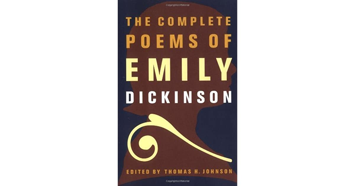 Poems pdf emily dickinson complete the of