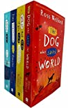 Ross Welford Collection 4 Books Set (The Dog Who Saved The World, What Not To Do If You Turn Invisible, Time Travelling With A Hamster, The 1000 Year Old Boy)