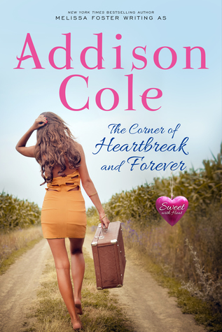 The Corner of Heartbreak and Forever (Sweet with Heat: Standalone Romance Novel)