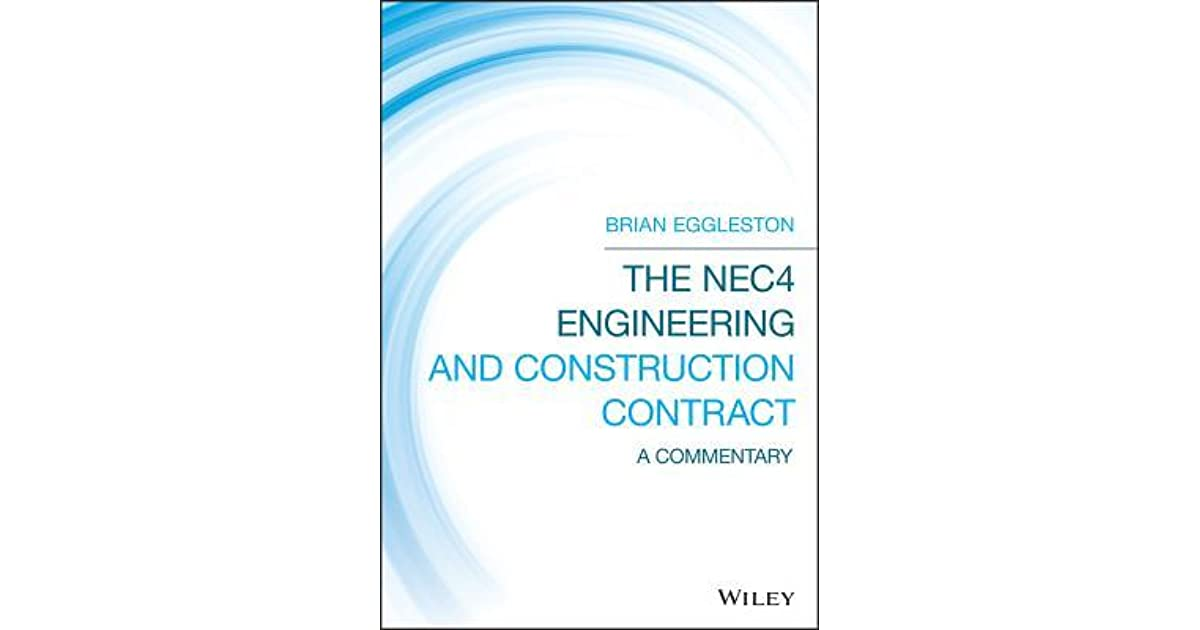 the nec 3 engineering and construction contract eggleston brian