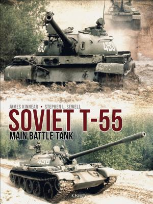 Soviet T-55 Main Battle Tank by James Kinnear