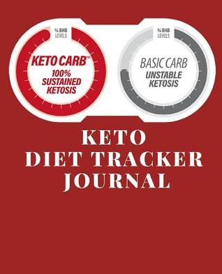 Keto Diet Tracker Journal: A Red Theme 90 Day Daily Ketogenic Macros
