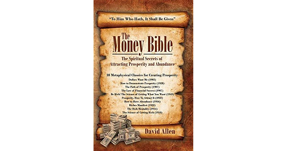 The Money Bible - The Spiritual Secrets of Attracting