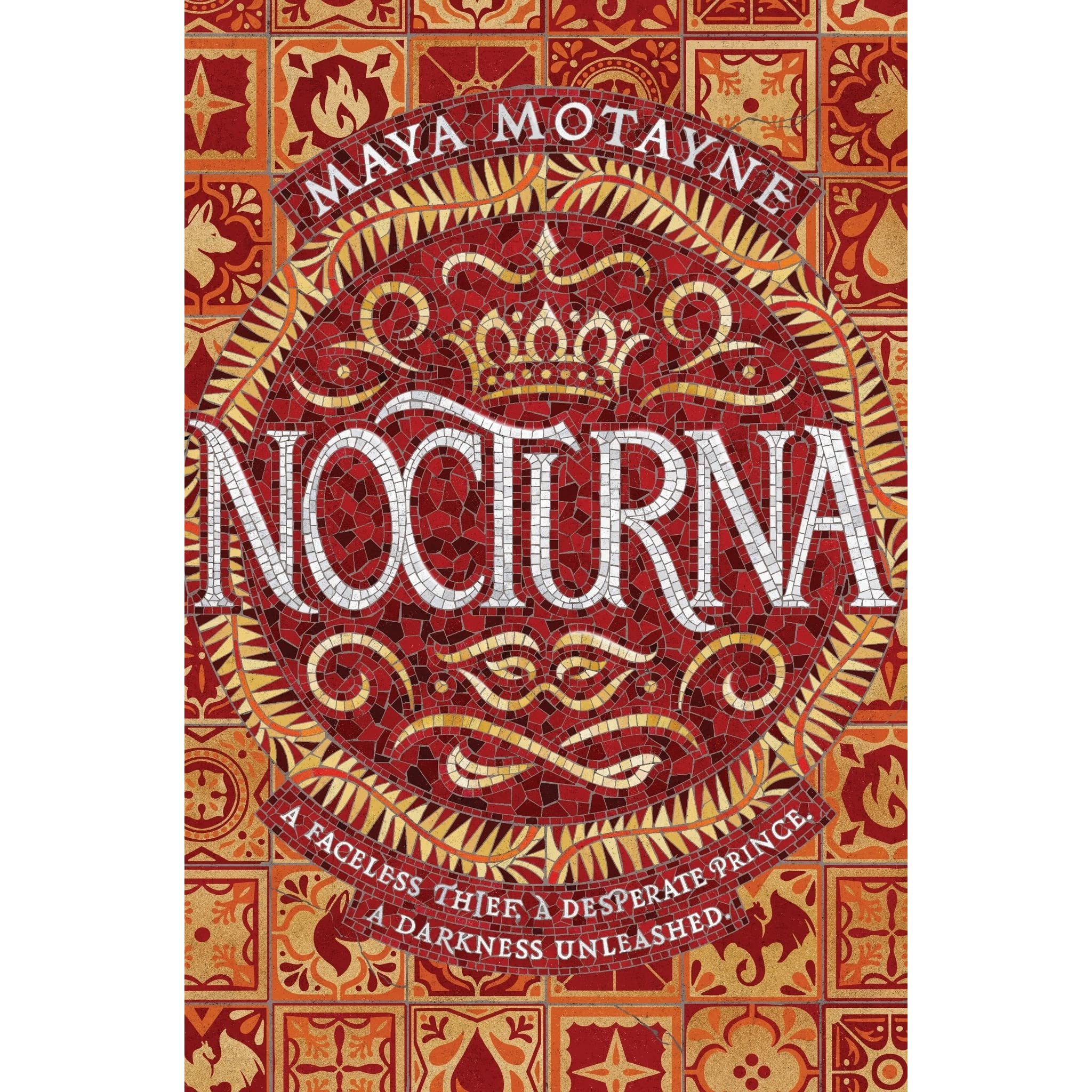 Nocturna (A Forgery of Magic, #1) by Maya Motayne