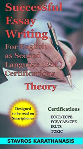 successful essay writing for english as second language