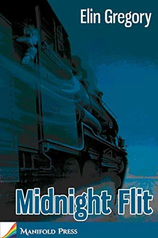 book cover showing speeding locomotive