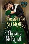 Forgotten No More (A Lady Forsaken, #2)