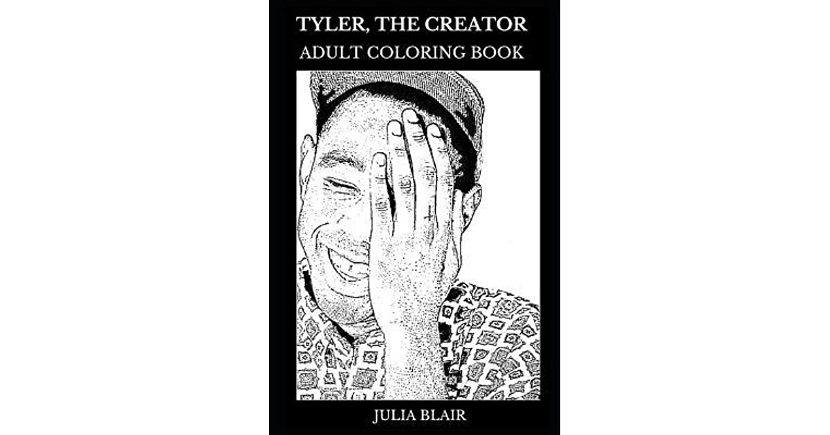Tyler, the Creator Adult Coloring Book: Alternative Hip Hop Prodigy ...