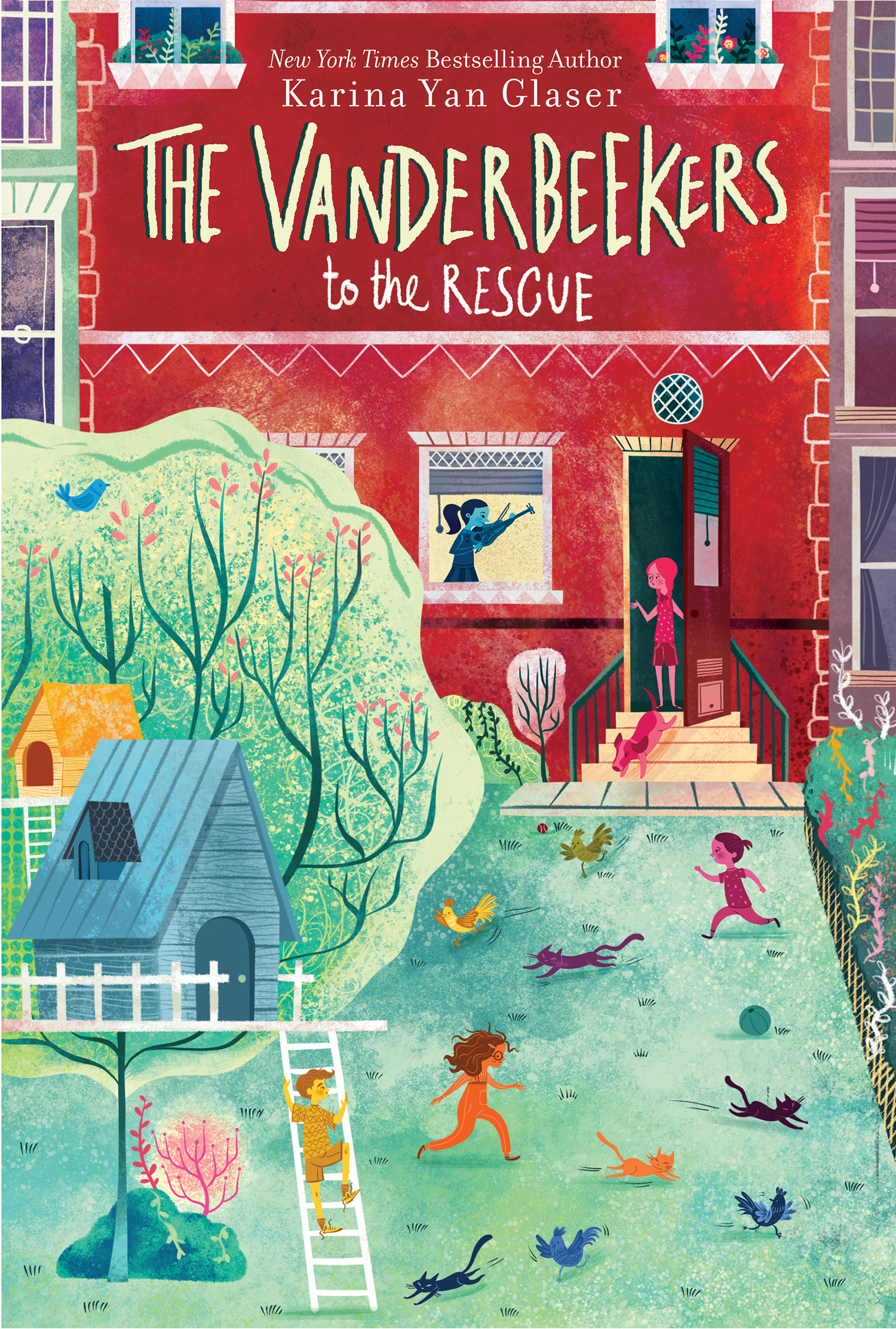 (Vanderbeekers 3) Glaser, Karina Yan - The Vanderbeekers to the Rescue