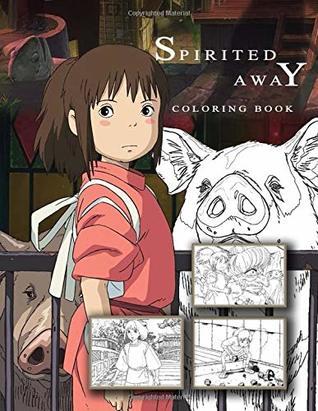 Spirited Away Coloring Book Hayao Mijazaki Studio Ghibli Anime Sen To Chihiro No Kamikakushi By Satoshi Tanaka