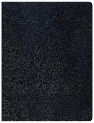 CSB Tony Evans Study Bible, Black Genuine Leather, Indexed