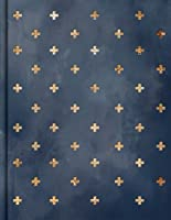 CSB Notetaking Bible, Navy/Cross Cloth-Over-Board
