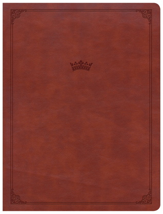 CSB Tony Evans Study Bible, British Tan LeatherTouch