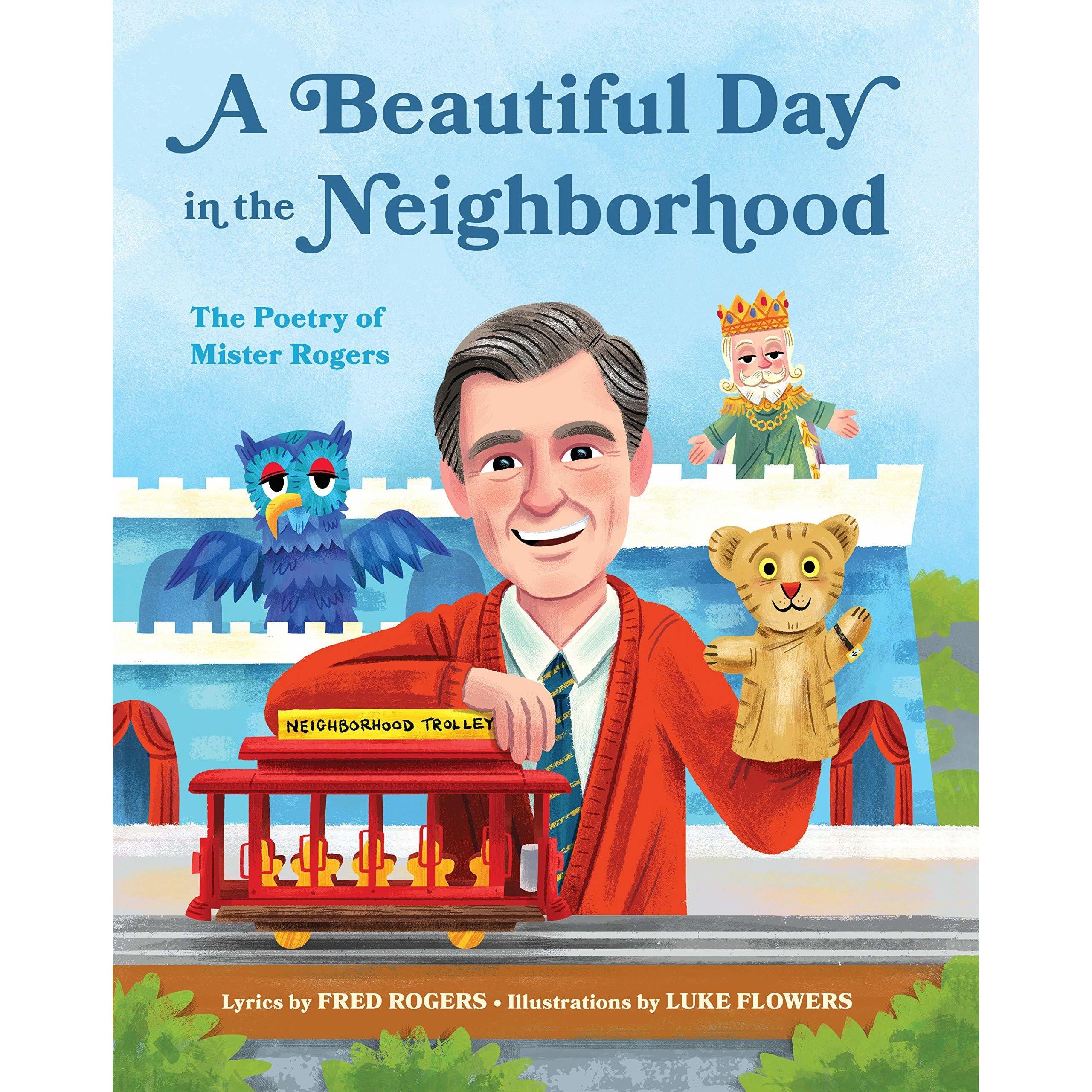Rogers Neighborhood Theme Song Lyrics Children/'s Poster Original Art Print Mr