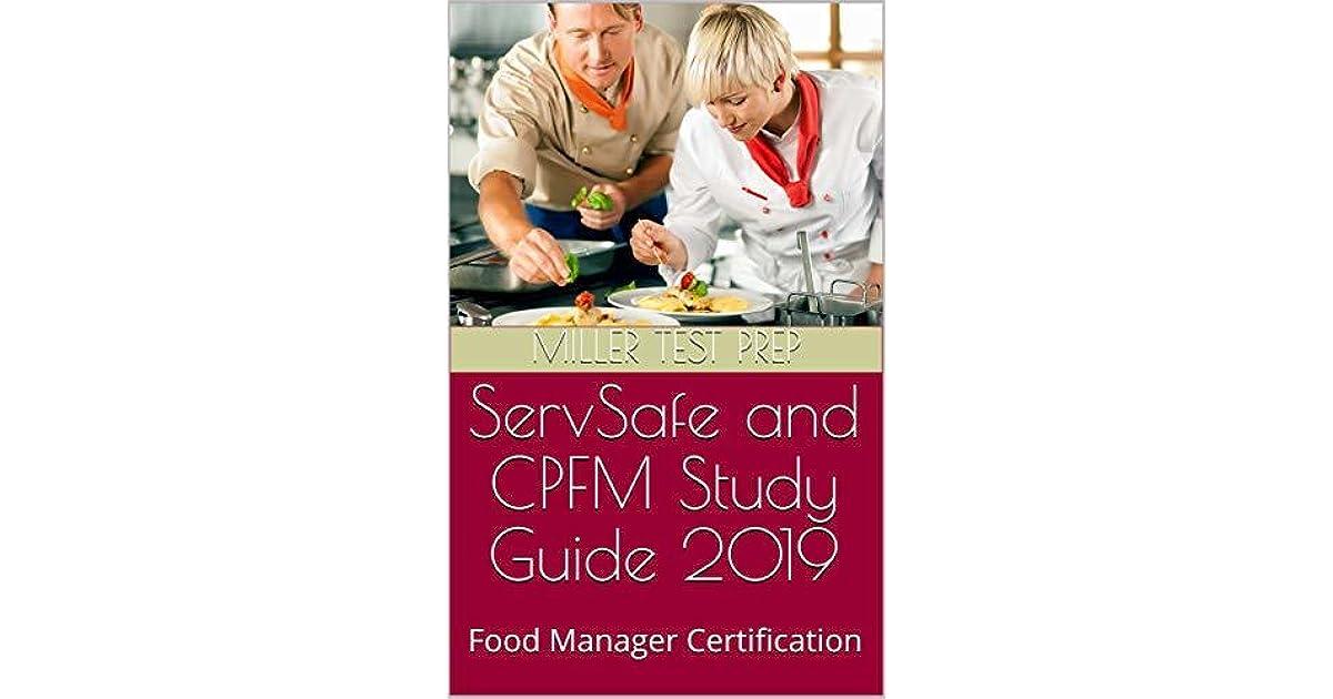 servsafe study manager certification test