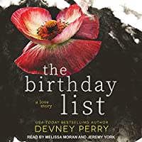 The Birthday List (Maysen Jar, #1)