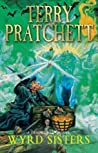 Book cover for Wyrd Sisters (Discworld, #6; Witches #2)