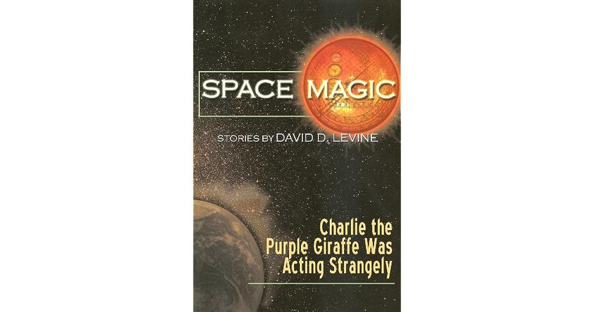 Charlie the Purple Giraffe Was Acting Strangely