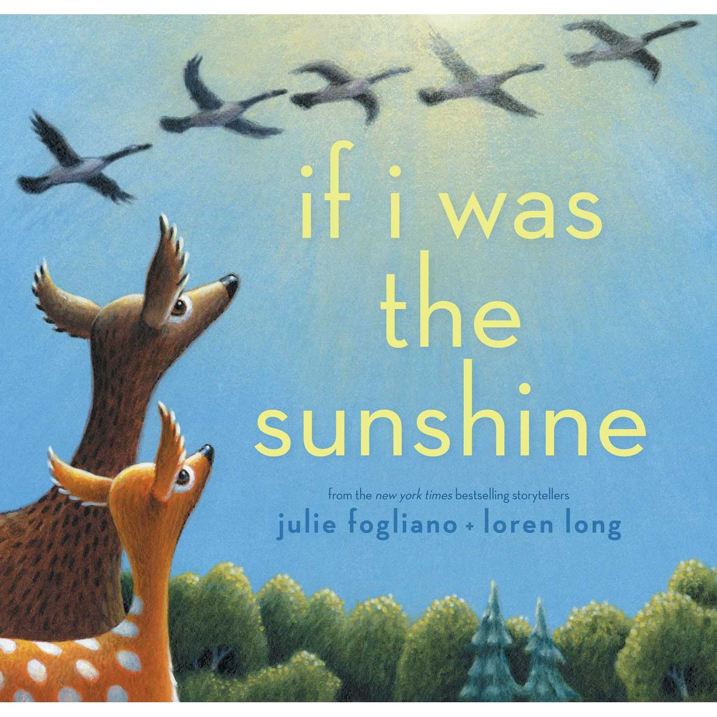 if i was the sunshine by julie fogliano